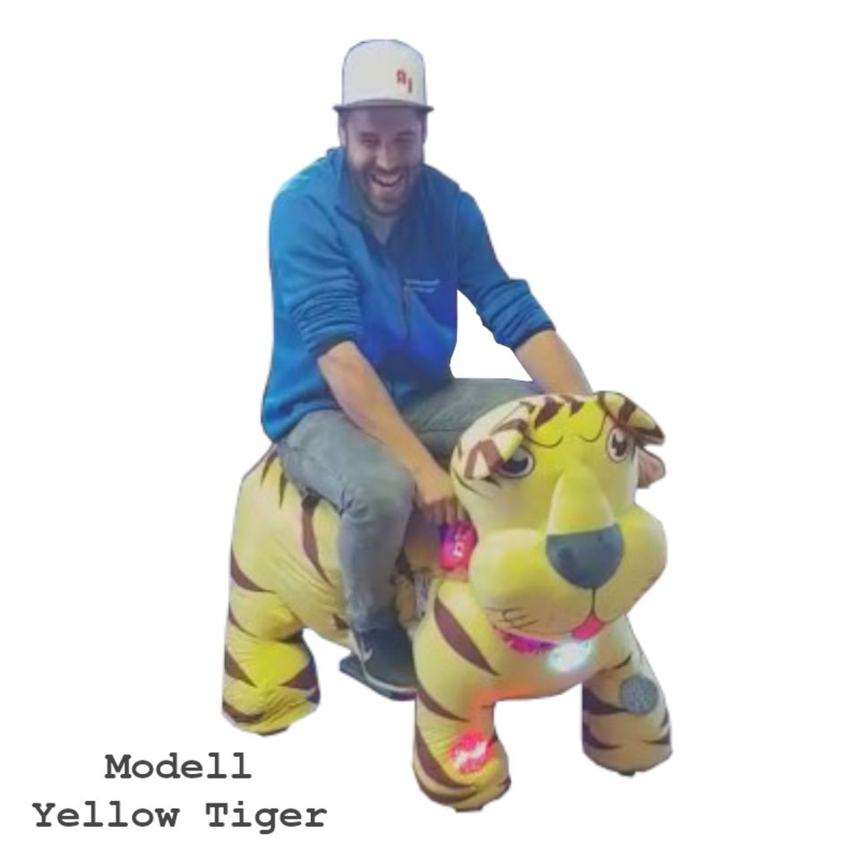 Animal Ride Yellow Tiger